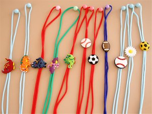 Hot Sale 2021 Children'S Mask Lanyard Adjustable Anti-Lost And Anti-Dropping Ears Silicone Cartoon Mask Rope Ear With Extension Cord
