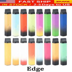 Hyde Edge Vape Vape Pen 8 Colores 1500 Puffs con batería de 1100mAh 6ml Pod Vape Desechables Kit de dispositivo DHL rápido envío 0266185