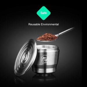 Kapselkapsuk für Nespresso Nachfüllbarer Pod Edelstahl-Kaffeefilter NESSPRESO Reutilisable Capsulas Q1127