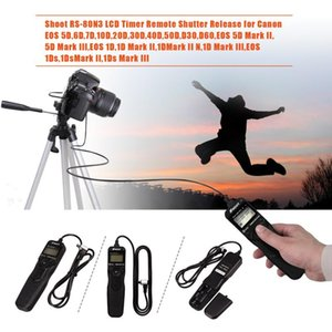 Timer Remote Control Shutter Cable RS-80N3 Release Switch Controller Cord For 70D 5D3 5D4 7D2 7D 1DS 6D2 60D Camera