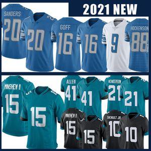 16 Jared Goff 20 Barry Sanders 15 Allen Robinson Football Jersey 21 C.J. Henderson 41 Josh Allen 10 Laviska Shenault JR Jerseys