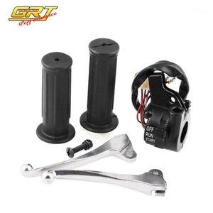 Высококачественные черные мотоциклетные дроссельные выключатели выключателя тормозных рычагов для PW50 Bike Motorcycle Handlebar Parts1