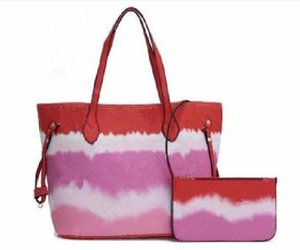 Borse in pelle da donna con borse a tracolla portafoglio Lady Shopping Tote Bag Borsa Borsa composita Borsa composita 6 colori