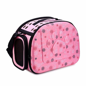 NEW-Pet Dog Cat Sided Carrier Foldable Travel Tote Shoulder Bag Portable Cage Kennel