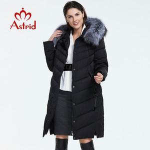 Astrid 2019-2020 neue Ankunft Daunenjacke mit Pelzkragen loser Kleidung Oberbekleidung Qualität Frauen Wintermantel FR-2160