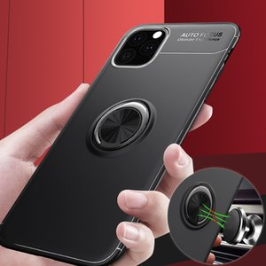 Suitable For IPhone 12 Case New Anti Falling Apple 12 Mobile Phone Protective Case Car Ring Bracket XS Soft Shell