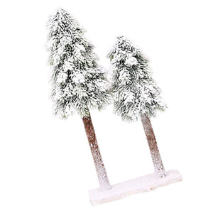 1pc Christmas Emulation Cedar Tree Creative Desktop Decoration Table Adornment Party Decoration 1pc Christmas Cheap Occasion sqcBlT