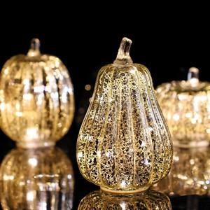 Lellen 1PC тыквенные бессмысленные свечи светодиодные свеча ароматизированные бугины Velas электронная лампа для Хэллоуина домашнего декора вечеринка 201031