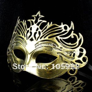 Venetian Mask Carnival Mask Vintage Roman Gladiator Mask Color Golden Silver Cinnamon Halloween Party Masks Party Costume