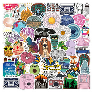 3 Sets = 210PCS Ins Wind Small Fresh Suitcase Stickers Water Cup Helmet Computer Stationery Stickers