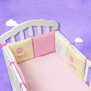 6 Pieces   Each Crib Protection Mat Crib Fence Fence Baby Bedding Set Slide Rail DAlA#