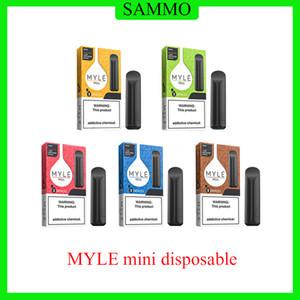MYLE Mini Disposable Device Pod Kit Battery 320 Puffs Cartridges Pre-Filled Vape Pen Vs Puff Posh Plus Bar Xtra Flow Bang XXL
