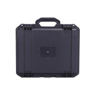 tool box durable ABS Flight Carry Case light weight plastic tool case waterproof storage bins1