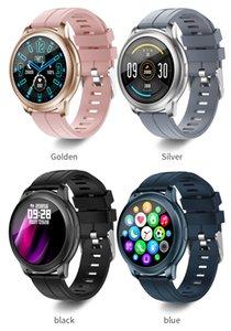 Contact complet Bluetooth Smart Watch Smart Watch IP67 Imperméable Récompense cardiaque Moniteur Fitness Tracker Smartwatch Femmes Mens