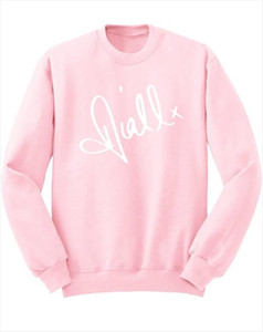 Niall Horan Signature Sweatshirt One Direction Gift Unisex Jumper Hoodies Casual Cotton tumblr aesthetic harajuku tops