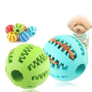 DHL Free Shipping Rubber Chew Ball Dog Toys Training Toys Toothbrush Chews Toy Food Balls Pet Product