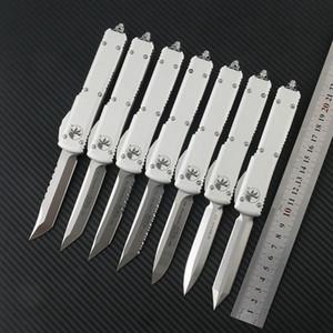 Microtech Ultratech Coltello automatico D2 Blade Acciaio T6-6061 Maniglia in lega di alluminio Combattimento tattico Coltello tattico Outdoor EDC Tools Task Coltelli