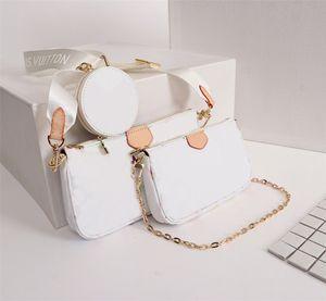 النساء المصممين الفموي أكياس 2020 قطع من الجلد 44823 مفضلة الفاخرة حقيبة يد الأزياء رسول حقيبة السيدات حقيبة المفضلة متعددة بوش