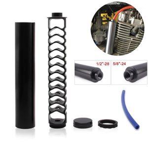 10-Zoll-6-Zoll-Erweiterungsspirale 5/8-24 oder 1/2-28 Legierung Kraftstofffilter Einzelkern für NAPA 4003 WIX 24003 Motorradzubehör1