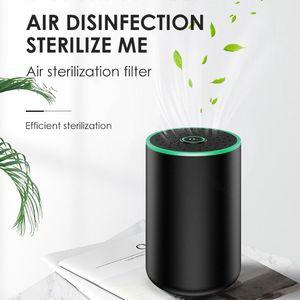 ALLOYSEED Q4 Portable CarOzone Generator Air Purifier Formaldehyde Odor Eliminator Deodorizer Air Cleaner