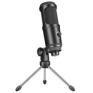 USB Reverberation Karaoke Condenser Microphone for Computer Recording Home Game Voice Online Class Live Microphone1