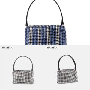 UXZQF Bolsa Lady Big Brand Retro Bolso Bolso Donación Solicitud Dama Mano Dama Moda Hombro Nuevo Messenger Bag Handbag Cadena Sarga