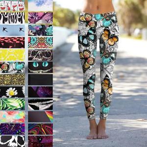 QickItout 12% Spandex Spandex High Taille Jaune Fruit Fresque Citron Digital Imprimer Fitness Fitness Entraînement Leggings Femmes Styles d'été