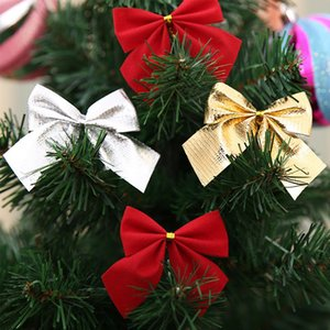 Yoriwoo 24pcs Christmas Baubles Bowknot Gold Merry Christmas Decorations For Home 2019 Xmas Tree Ornament Happy New Year Gifts jllxoN