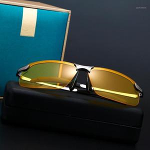 Occhiali da sole 2020 Occhiali polarizzati da uomo Giorno Night Vision Drive Glasses e scolor1
