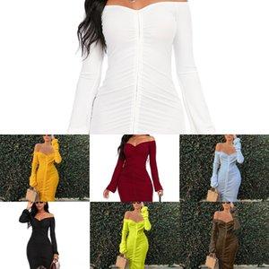 XRPF 새로운 반짝 Peplum 꽃 저녁 레이스 꽃 Vestidos 볼 - 통해 드레스 드레스 여성 드레스 Bodycon 가죽 슬래시
