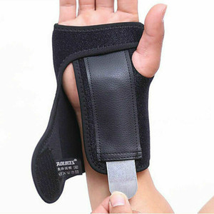 Adjust Wristband Hand Wrist Brace Support Steel Removable Splint Relieve For Carpal Tunnel Injury Splint Syndrome with Retail Package