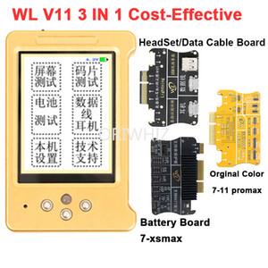 WL V11 LCD Ekran Gerçek Ton Onarım Orijinal Renk Programcı Telefon için 11 XR XSMAX XS 8 P 8 7 P Kulaklık / Dokunmatik / Pil Onarım