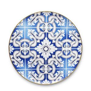 Modern Bone China Dinner Ware Gold Rim Tableware Sets Western Ceramic Wedding Plate Or jllwFP bdedome