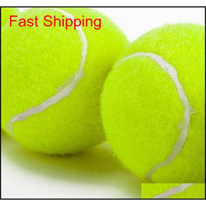 Training Standard Tennis Ball Rubber Good Bounce 1.3 Meters Durable Tennis Playing Official Ball Neon Yellow qylkwk mj_fashion
