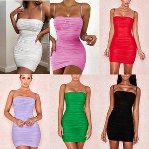 Ggei verão vestido skinny mangas designer mini saia um pedaço vestido de alta moda mulheres vestido qualidade luxo clubwear C153