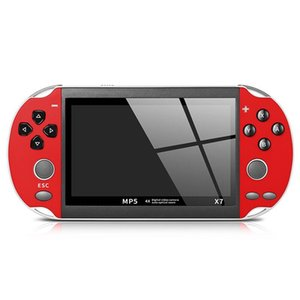 X7 8GB 16GB PSP 4.3'' LCD Double Rocker Portable Handheld Retro Game Console Video MP5 Player for GBA SFC MD Arcade Retro