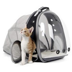 cápsula de soporte portátil astronauta gato bolsa de hombro Mochila plegable para Tienda grande del espacio en las jaulas de Bubble Fuentes del animal doméstico del perro