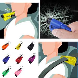 Mini Veicolo Sicurezza Martello Portatile Escape Strumenti di fuga Hammers Breaker Breaker Monitoraggio multifunzionale Mini sicurezza multifunzione XD24354