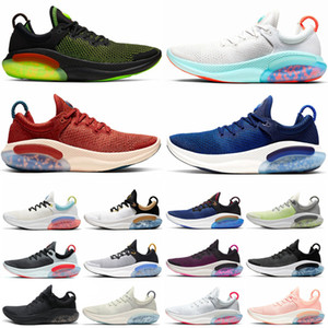 2020 TPE Grânulo Joyride Run FK Fly White Knit Mens Femininas Correndo Tênis Triplo Black Pink Platinum Racer Blue Designers Sports Sneakers