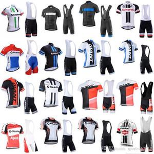 Men Cycling Jersey Giant Short Sleeve Mtb Bike Clothing Bicycle Clothes Cycling Clothing Bike Bib Shorts Set Maillot Ropa Ciclismo 3297