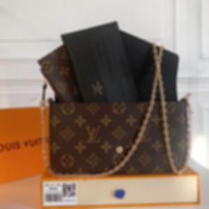 Womens Luxurys Designer Mode Dame Messenger Frau Herren Taille Mini Schulter Crossbody Kette Taschen Geldbörsen Kartenhalter Einkaufstasche Brieftasche