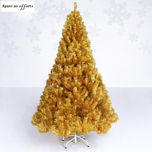 Gold Christmas Tree Decorative Tree Artificial Plant New Year Xmas Gift Home office Mall Hotel Garden Cabinet Decoration