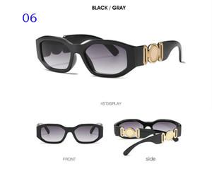 Nuova testa personalizzato occhiali da sole 4361 europei e americani irregolari piccoli occhiali da sole uomini e le donne di tendenza occhiali da sole 1006