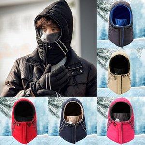 Protezioni di modo Trapper cappello esterno in bicicletta unisex anti-fog Earflap cappello del pattino Neve Orecchio inverno caldo antivento Cap trasporto marittimo DDA678