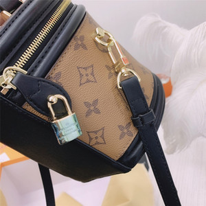 2020 New Fashion Hair Ball Decoration Shoulder Cannes Bag Fashion Ladies Rivet Decorative Messenger Cannes Bags Winter LeatherHandcannes #2285