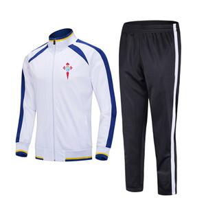 20-21 Real Club Celta de Vigo, S.A.D Soccer sports Kids football tracksuits Running suit outdoor training sets Men's Sportwear