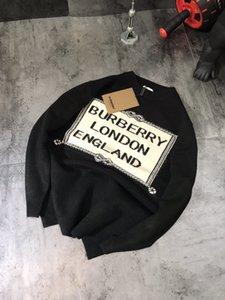 20fw nuovo arrivo Parigi G progettista delle donne felpa con cappuccio felpa uomo Squares Burb lettere crewneck BBR maglione gli uomini della lana