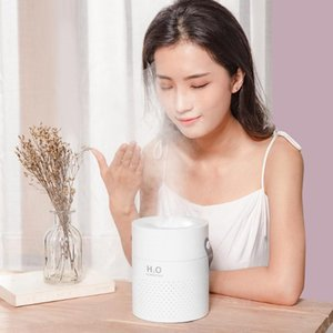 New Style Dynamic Double Jet Humidifier Creative Hand Double Spray Mouth Household Bedroom Within Large-Volume Multi-functional