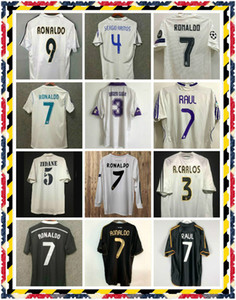 2002 2004 2005 Real Madrid Retro Jerseys 02 04 05 Soccer Jersey 2011 2012 2013 2014 Zidane Ronaldo Beckham 11 12 13 14 Camisetas Camisa