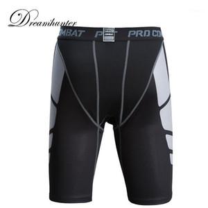 Summer Running Shorts Men Quick Drying Breathable Elastic Compression Shorts Fitness Basketball Legging Tight Sport1